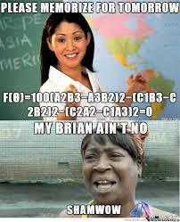 Shamwow Meme - my brain ain t no shamwow by b52bumblebee meme center