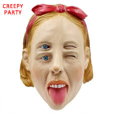 online get cheap latex halloween masks aliexpress com alibaba group