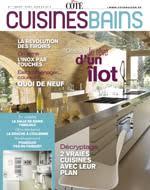 cuisines et bains magazine un nouveau magazine vivre côté cuisines et bains côté maison
