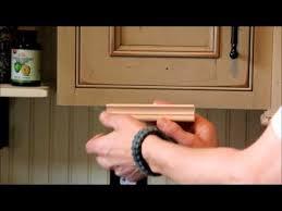 Kitchen Cabinet Rails Light Rail Moldings Youtube
