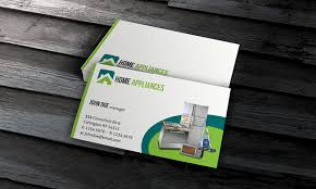 home appliances business card template free download ee00003