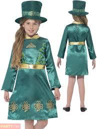 Leprechaun Costume Girls Leprechaun Costume Child St Patricks Fancy Dress Kids Irish