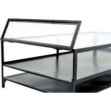 Shadow Box Coffee Table Zane Industrial Loft Iron Shadow Box Coffee Table Kathy Kuo Home