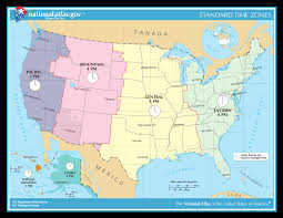 Time Zone Map World Weather Climate And Time Zone The Usa