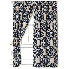 Navy Patterned Curtains Patterned Navy Blue Curtains Png Png Image 371 516 Pixels