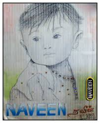 pencil sketch of a baby boy desipainters com