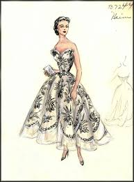 the 25 best vintage fashion sketches ideas on pinterest fashion