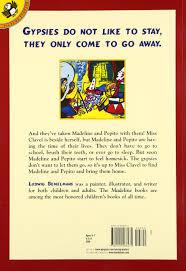 madeline and the gypsies ludwig bemelmans 9780140566475 amazon