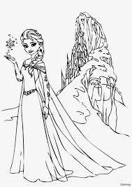 disney frozen coloring pages for girls elsa download image 2f