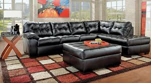 Simmons Soho Sofa by Pc Soho Onyx Bonded Leather Sectional Set