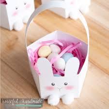 bunny basket 3d easter bunny basket sofontsy