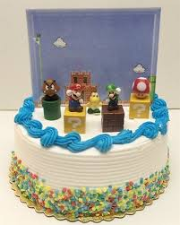 mario cake topper mario brothers birthay cake topper