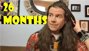 styling two year hair mens long hair 26 months update men s style pinterest