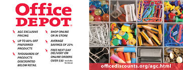 Office Depot Office Depot Discount Associated General Contractors