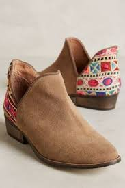 shop boots reviews shop the howsty leyla low booties and more anthropologie at