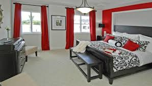 SW Th Ave Miramar FL  Gray Color Red Black And Gray - Gray color schemes for bedrooms