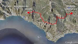 Map Of Amalfi Coast Path Of Gods U2013 Amalfi Coast Ben Huser