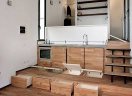 hidden trap door is just one of the cool space saving design hidden trap door is just one of the cool space saving design features of this smart micro apartment allen killcoyne architects nyc micro apartment
