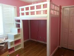 loft bed with stairs storage and desk u2013 home improvement 2017