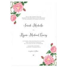 wedding invitation layout wedding invites sles simplo co