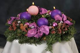 file advent wreath with violet and rose candles 4 jpg wikimedia