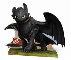 toothless dragon train dragon 2 cardboard cutout
