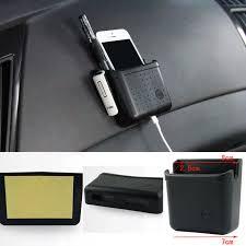 phone charger organizer car universal door storage box phone charger cradle pocket bag