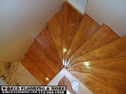 Laminate Flooring On Steps Wood Stairs Installation And Stair Repair In Chicago And Oak Lawn