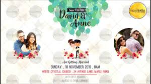 animated invitation video whatsapp christian wedding marriage