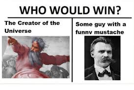 Creator Of Memes - who would win the creator of the some guy with a universe funnv