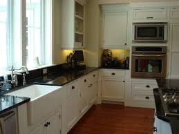 Black Farmers Sink by Kitchen Gorgeous White Kitchen Design Ideas With White Marble