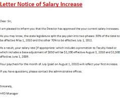 collection of solutions recommendation letter for salary raise in