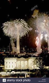 house 1985 washington dc usa 18th january 1985 fireworks explode over the