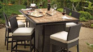 Patio High Table And Chairs Fireplace Wonderful Frontgate Outdoor Furniture For Patio