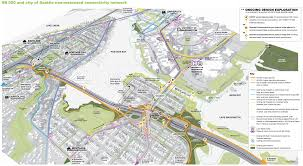 Seattle Mass Transit Map by Seattle Side 520 Bridge Plan Getting Closer But Still Needs