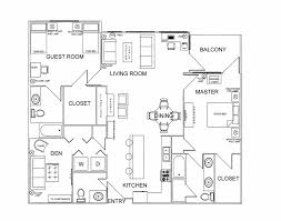 furniture floor plan home design