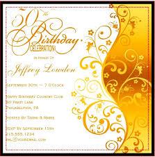50th birthday invitation templates a birthday cake