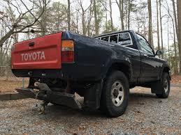 vintage toyota truck vwvortex com 92 toyota pickup revival bent bumper u003d body off resto