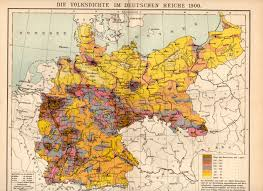 Map Of Europe 1939 by German Empire Population Density 1900 Map Germany Deutschland