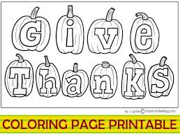 thanksgiving coloring pages to print printable pages