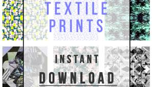 surface and textile print designs available for sale at