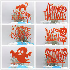 halloween themed cake toppers compare prices on halloween cake toppers online shopping buy low