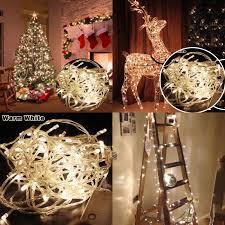 200 warm white christmas tree lights warm white 20m 200 led christmas xmas fairy string holidays lights