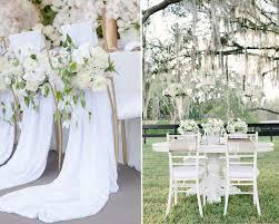 stylish white decoration for wedding wedding white decoration for