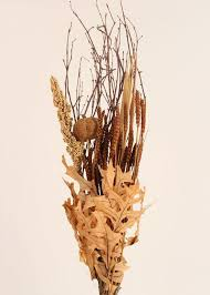 Dried Flower Arrangements Fall Dried Flower Bouquet In Neutral Autumn Colors At Afloral Com