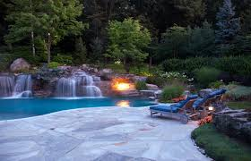 luxury swimming pool u0026 spa design ideas outdoor indoor nj
