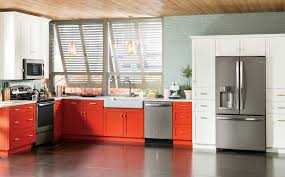 Red Kitchen Pics - ge kitchen design photo gallery ge appliances