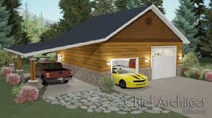 attached carport creating a carport