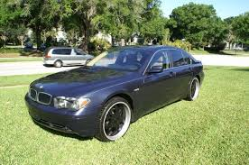 used 2002 bmw 745i for sale 2002 used bmw 7 series 745i at auto sales serving sanford