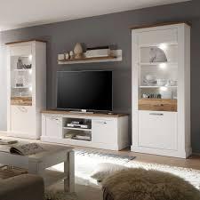 Wohnzimmer Beleuchtung Bilder Wohnzimmer Schrankwand Drosaliva In Weiß Wohnen De